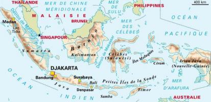 Carte archipel de la sonde
