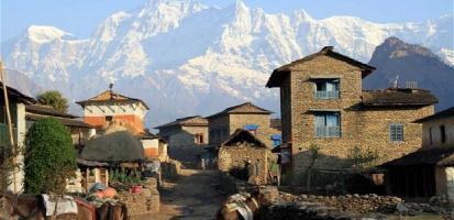 Dharepani village