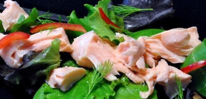 Effiloche de saumon