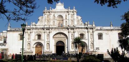 Guatemala ciudad cathedrale