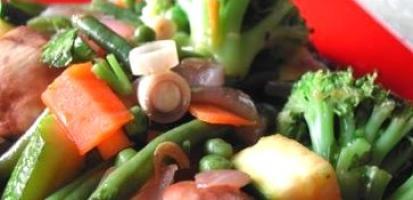 Legumes au wok