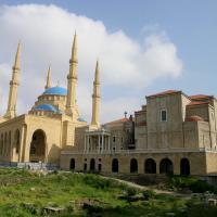 Mosquee et tombeau de rafic hariri