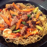 Nouilles au wok