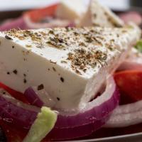 Salade pasteque feta origan