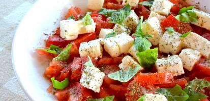 Salade tomate feta