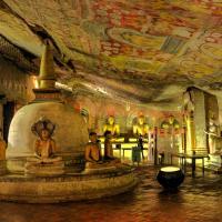 Temple de la cave dambula