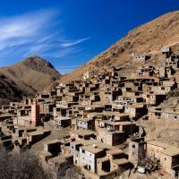 Toubkal village berbere
