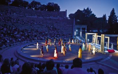 Athens epidavros festival