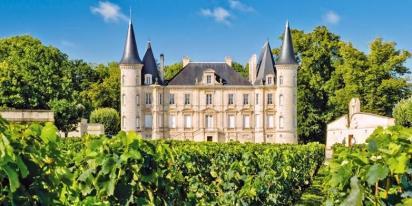 Chateaux de la region bordelaise