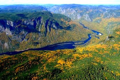Hautes gorges de la riviere malbaie 1