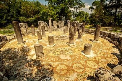 L ancienne ville de butrint