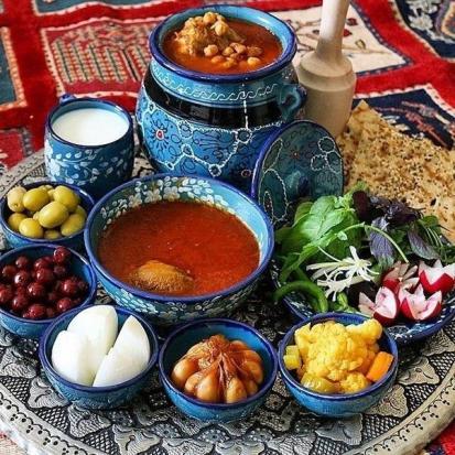 La cuisine persane