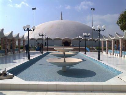 La grande mosquee de marbre blanc masjid i tuba