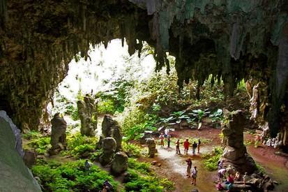 La grotte mitterand