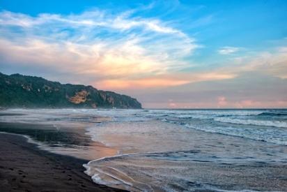 La plage de parangtritis