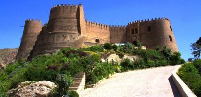 Le chateau de khorramabad