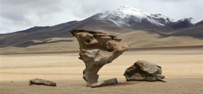 Le desert de siloli
