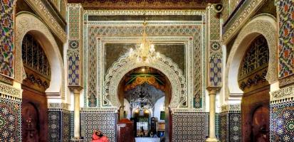 Le mausolee de moulay idriss ii