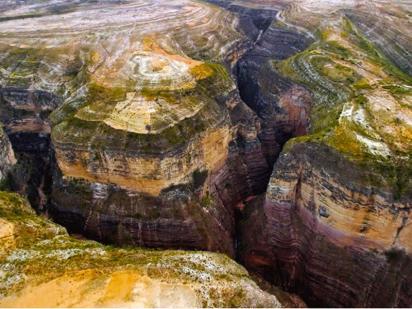 Le parc national de torotoro
