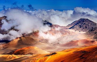 Les pentes des volcans 1