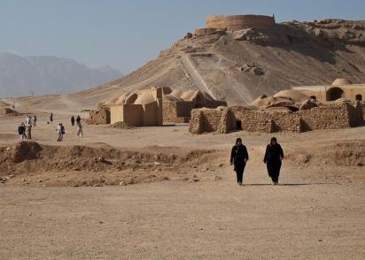 Les tours du silence zoroastriennes