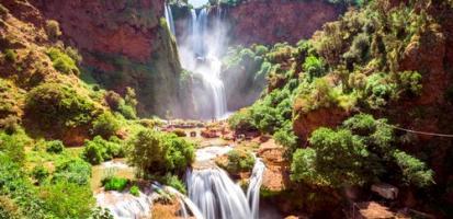 Magnifiques cascades d ouzoud