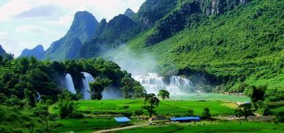 Montagnes vietnam
