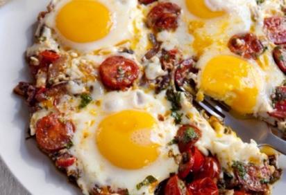 Omelette marocaine