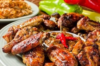 Poulet jamaicain sauce jerk