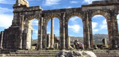 Ruines romaines volubilis