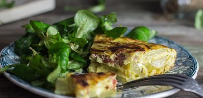 Tortilla au pimenton