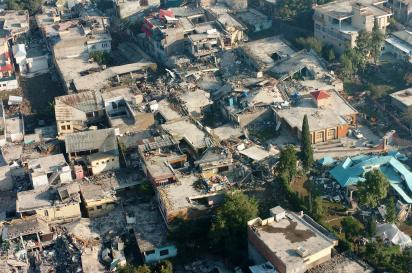 Tremblement de terre cashmire