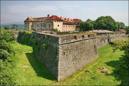 Uzhorod chateau