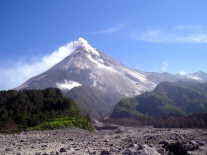 Volcan merapti